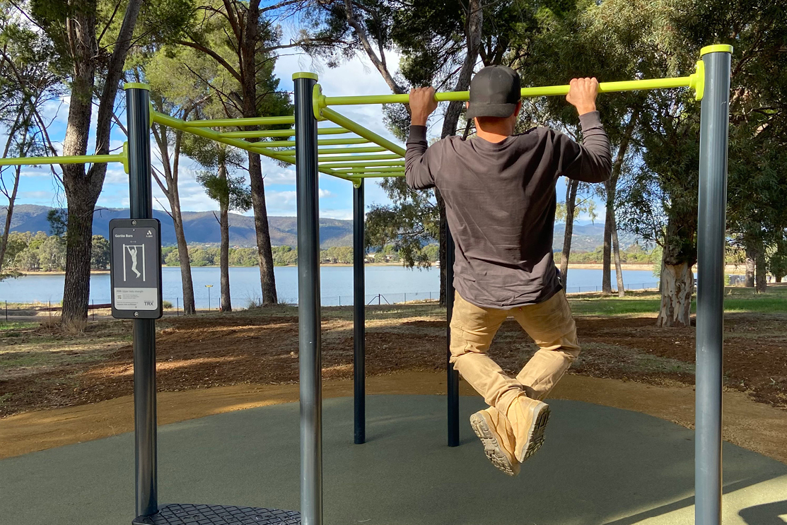 Hope Valley's pull up bars