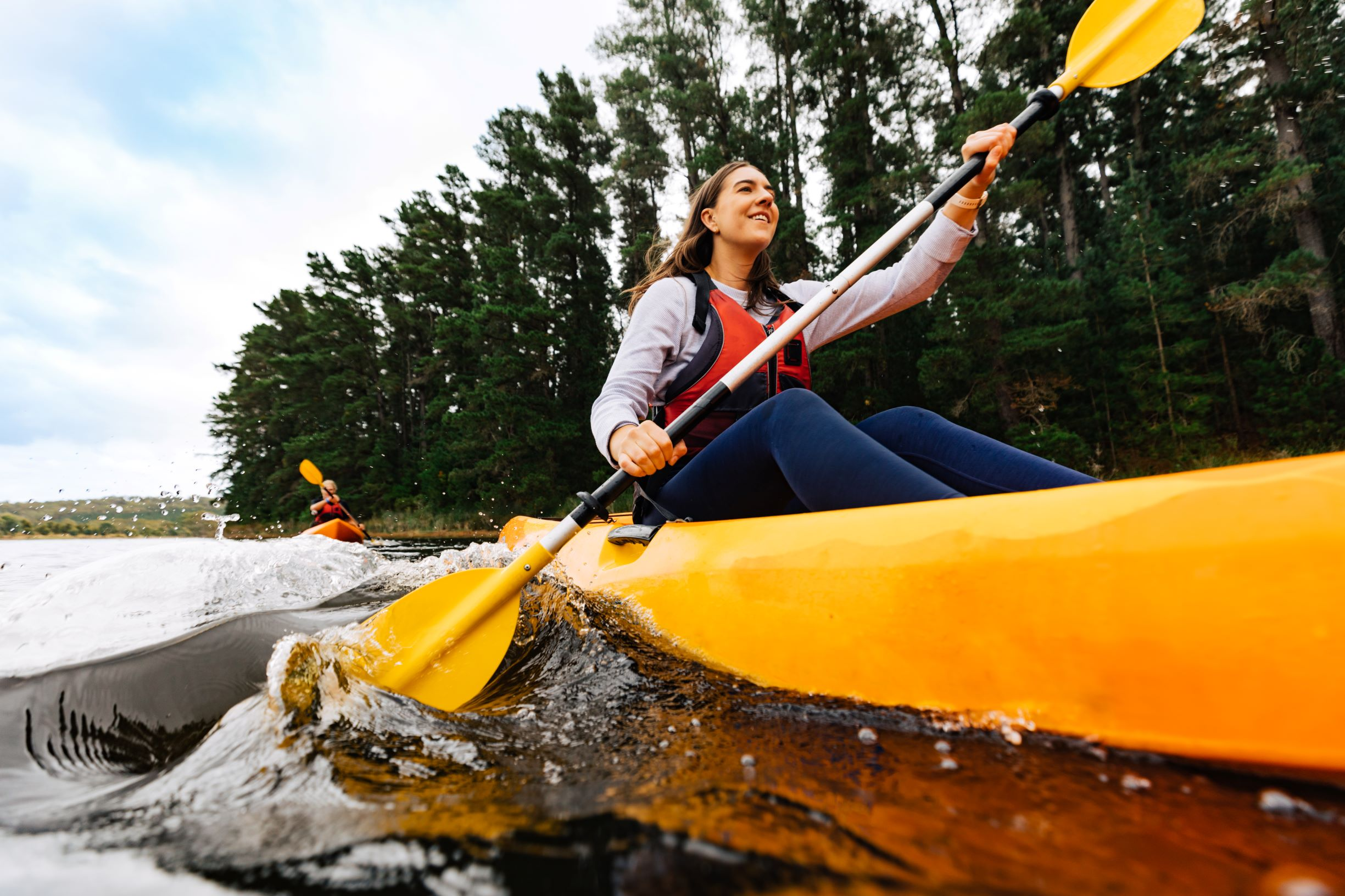 Kayaking at Myponga Reservoir