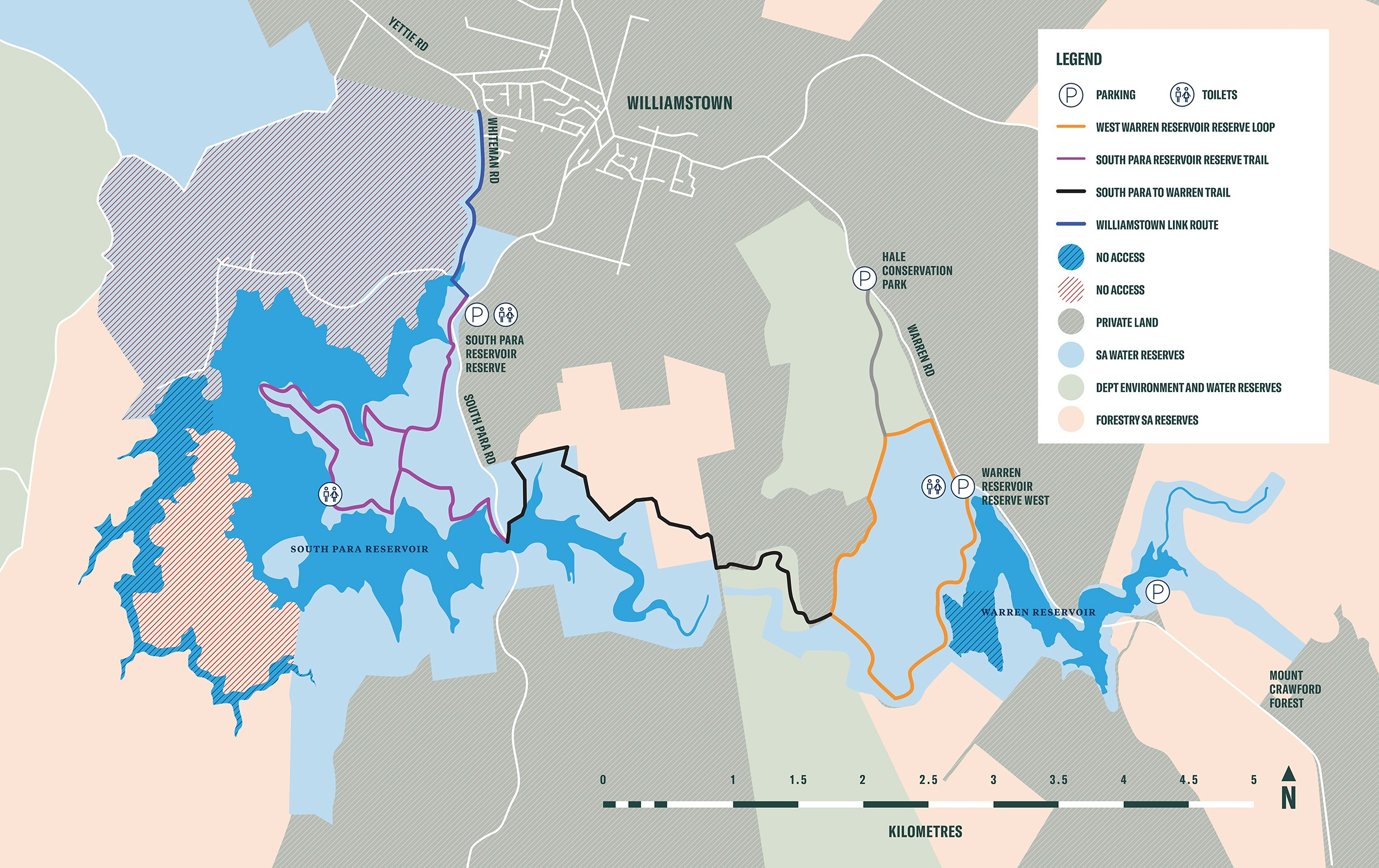 Northern trails network